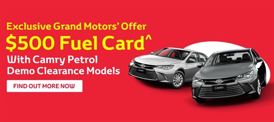 Grand Motors' Exclusive Offers