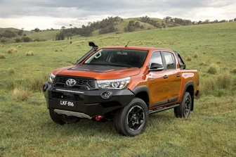 NEW HILUX MODELS DESIGNED AND ENGINEERED IN AUSTRALIA