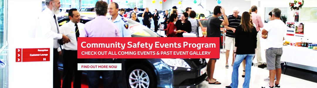 Community Safety Events Program